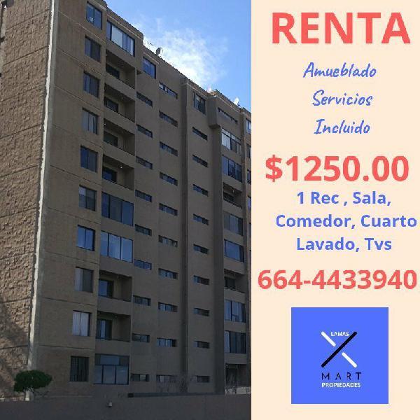 Renta apartamento / marriot