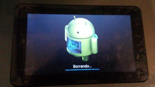 Tablet rm-28 reparar / refacciones detalle logo android