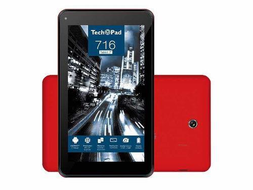 TECH PAD 7 TABLET 16GB 1 GO RAM ANDROID 7.1 NUEVO segunda mano  México (Todas las ciudades)