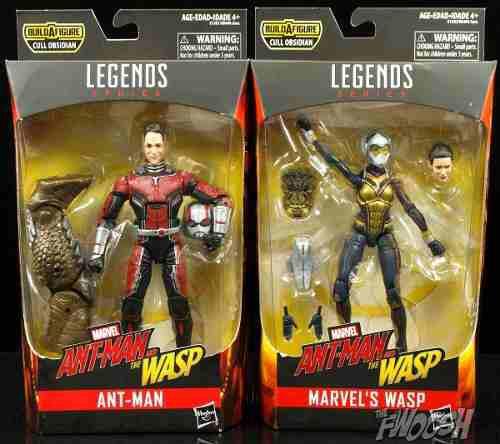 Ant man + wasp marvel legends baf cull obsidian envio gratis