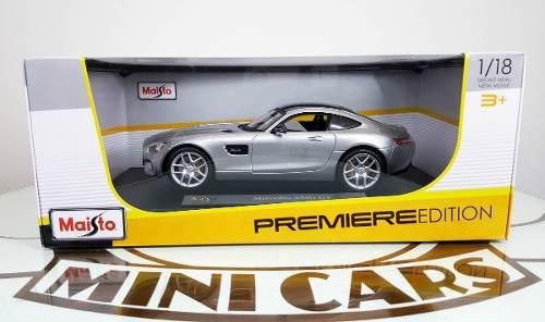Autos Escala 1:18 Mercedes Amg Gt Pl Maisto Carros Coleccion