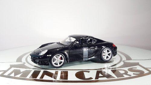 Autos escala porsche cayman s n 1/18 maisto carros coleccion