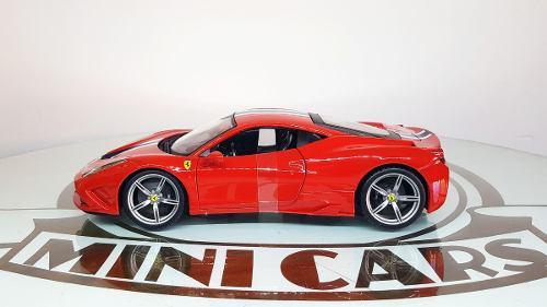 Ferrari 458 speciale 1/18 bburago maisto autos escala metal