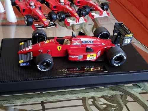 Ferrari 87/88c edicion especial gerhard berger escala 1/18