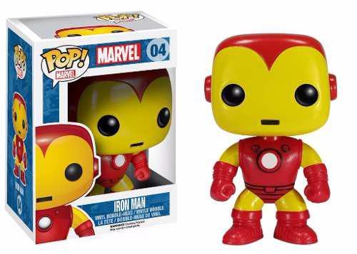 Figura accion muñeco iron man marvel geekend funko pop