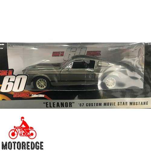 Ford mustang shelby gt500 eleanor 1967 greenlight 1/24