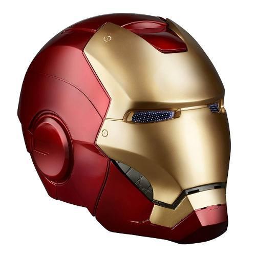 Marvel legends casco electrónico de iron man escala 1:1