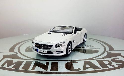 Mercedes benz sl 500 2012 maisto 1/18 autos a escala metal
