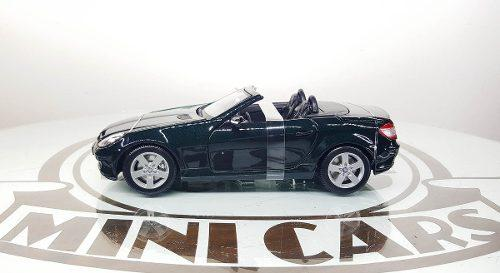 Mercedes benz slk verde os 1/18 maisto autos a escala metal