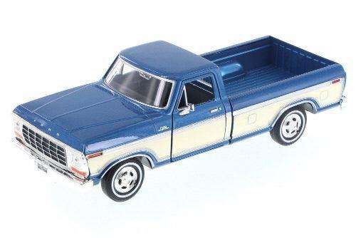 Motor max 1:24 - 1979 ford f-150 custom camioneta dos tonos