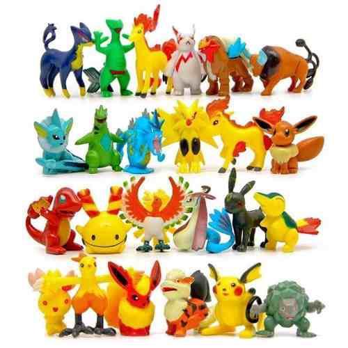 Pokemon 192 figuras lote envío gratis azar juguetes go