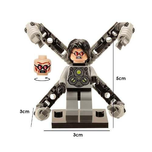 Spiderman marvel figura compatible lego dr. doctor octopus