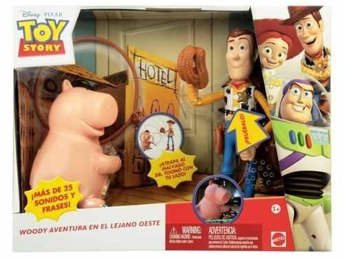 Toy story el malvado doctor tocino y woody parlante disney ece2f644aa3