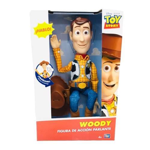 Toy story woody figura de acción 15 frases toy plus