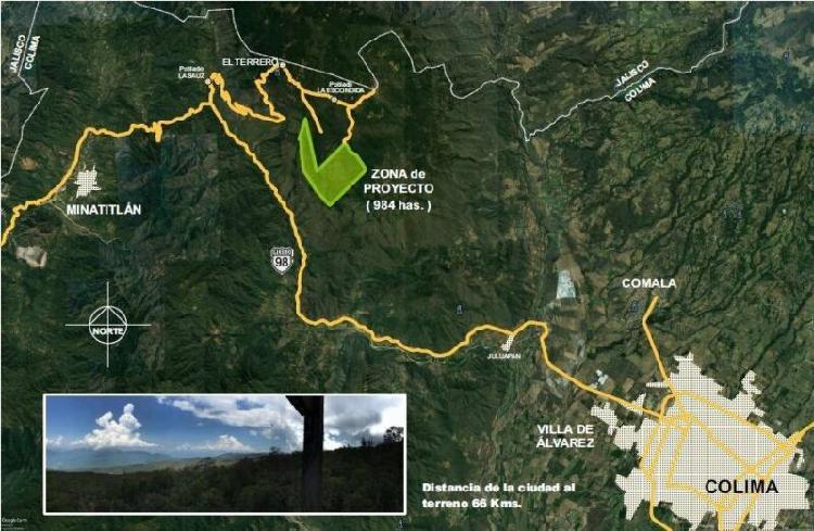 Venta de terrenos campestres zona de reserva de la biosfera