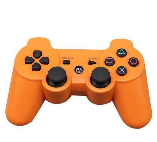 Control para ps3 generico inalambrico naranja incluye cable