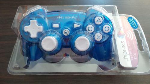 Control ps3 rock candy alambrico azul