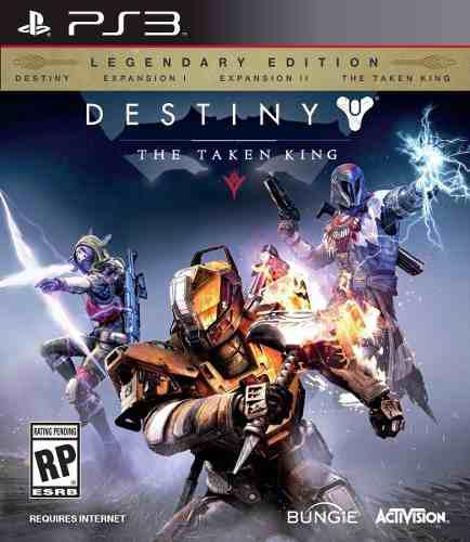Destiny the taken king edición legendaria ps3
