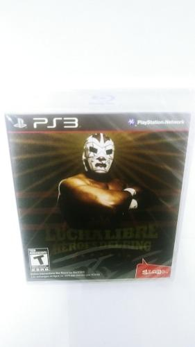 Lucha libre heroes del ring play station 3 envio gratis!!!