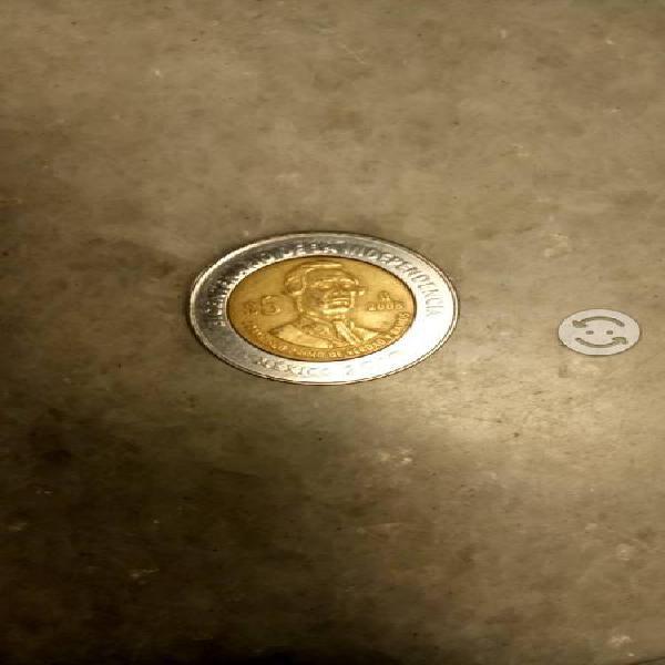Moneda francisco primo de verdad sin puntos