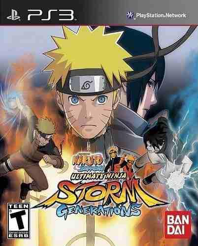 Naruto shippuden ultimate ninja storm generations ps3 juego