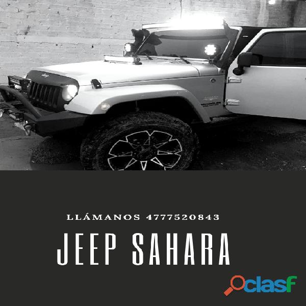 Jeep sahara precio increible