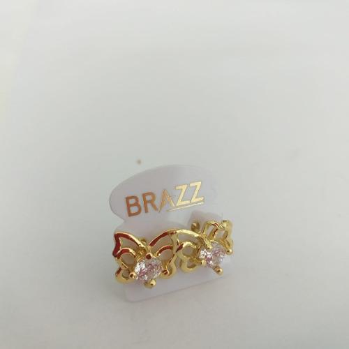 Aretes de oro laminado 18k mayoreo y menudeo cód: lzc19.011