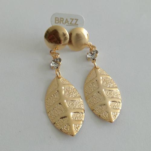 Aretes de oro laminado 18k mayoreo y menudeo cód: lzl33.1