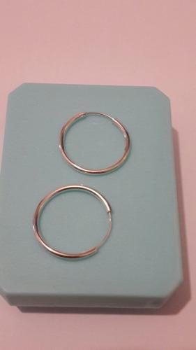 0ec71267a1e5 Arracadas plata de 1mm ancho y 1.5 cm diametro envio gratis en ...