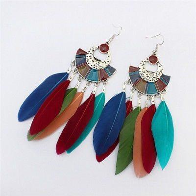 ac0c02cba4c4 Hermosos aretes mod tuusy con plumas moda colors en México ...