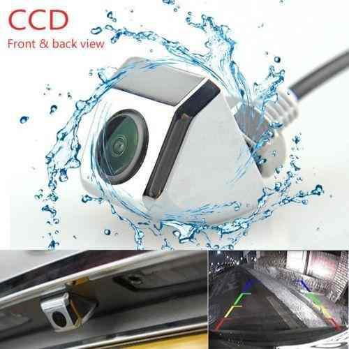 Plata coche impermeable trasera vista cámara