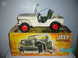 Jeep madelman juguete vintage
