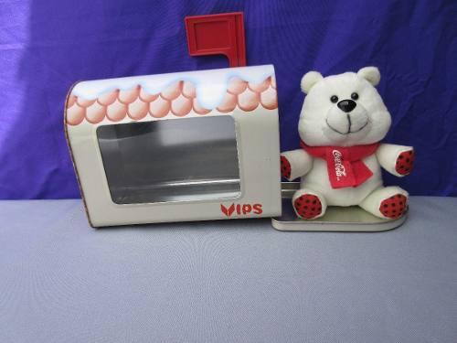 Coca cola buzón de los deseos oso polar vips envio gratis