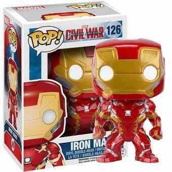 Funko pop # 126 iron man civil war