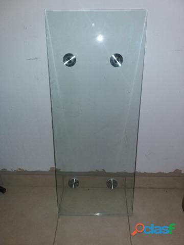 Mesa de vidrio de 13mm de espesor 36 x 90