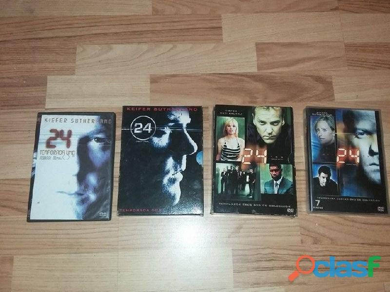 Serie 24 veinticuatro temporadas 1,2,3,4,5,6,7 y 8 1
