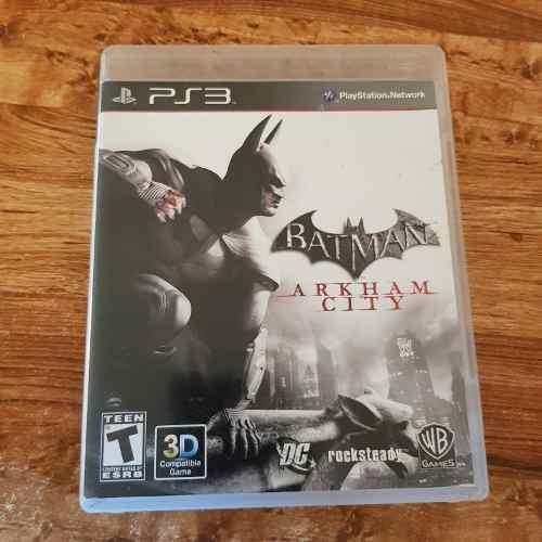 Batman arkham city fisico envio gratis + caja 10/10 barato
