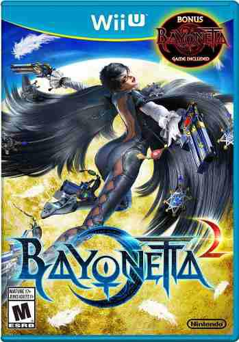 Bayonetta 2 edición especial dos discos - bonus bayonetta 1
