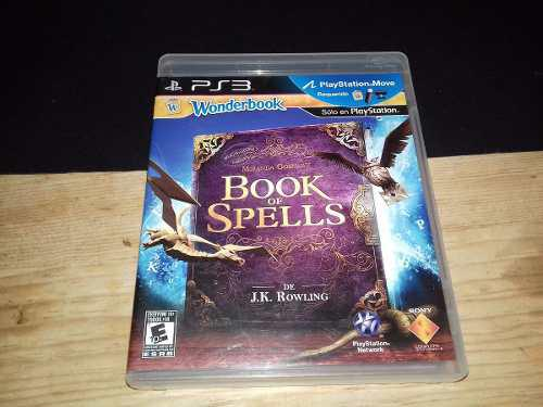 Book of spells play station 3 ps3 solo juego
