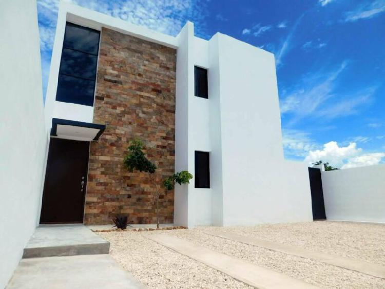 Casa en venta, ¡privada praderas del mayab!