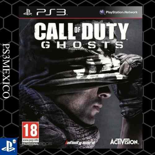 Cod ghost ps3, entrega inmediata! ps3mexico