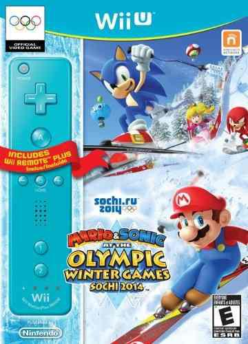 Juegos olímpicos de invierno mario & sonic sochi 2014 con w