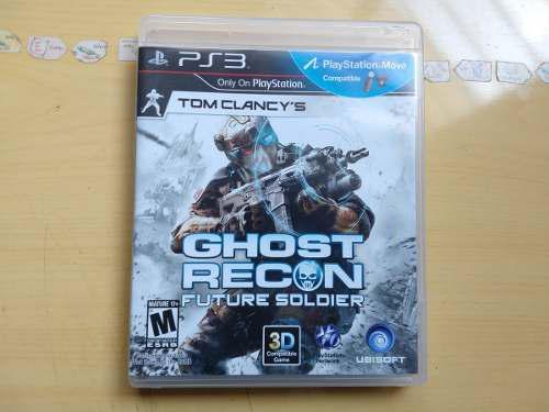 Juegos ps3 ghost recon future soldier