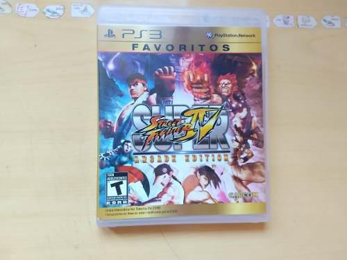 Juegos ps3 super street fighter 4 arcade edition