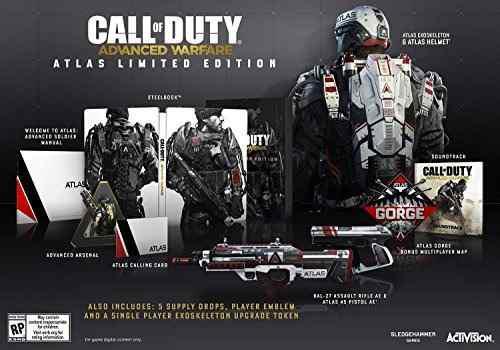 Juegos,call of duty advanced warfare atlas edición limit..