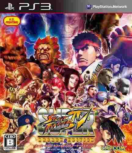 Juegos,capcom super street fighter iv edición arcade par..