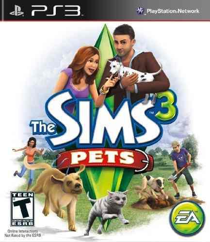Juegos,los sims 3 animales - playstation 3