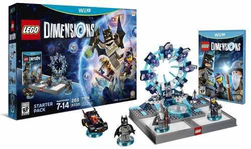 Lego dimensions wii u. juego. figuras. pack completo nuevo