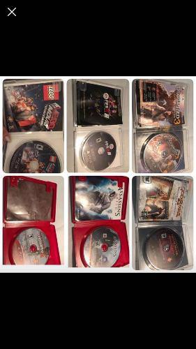 Lote de video juegos ps3