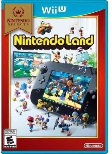 Nintendo land para wii u nuevo (en d3 gamers) c/envio